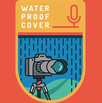 waterproof cover podcast