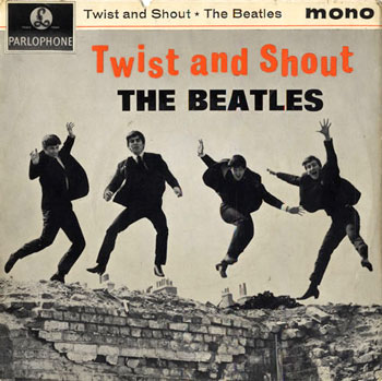 beatles twist and shout ep