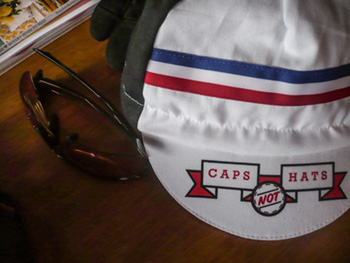 caps not hats