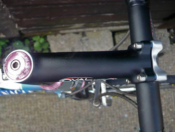 oval bars and stem