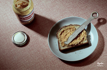 rapha peanut butter advert