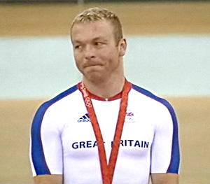 chris hoy - olympic sprint champion