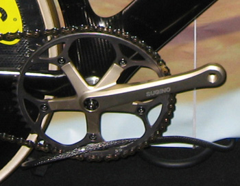 track chainset