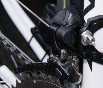 campagnolo e-record front mech