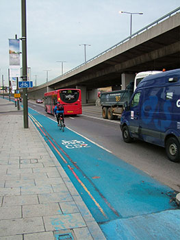 london's cycle lanes