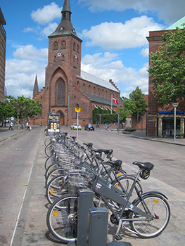cycling in odense