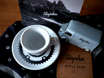 personal rapha mobile cycle club