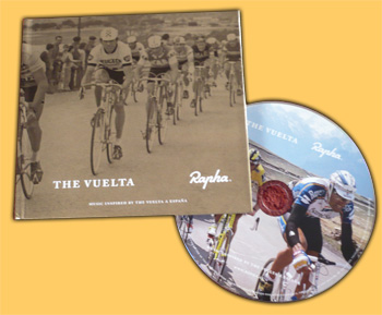 rapha la vuelta cd cover