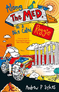 cycling the med on a bike called reggie