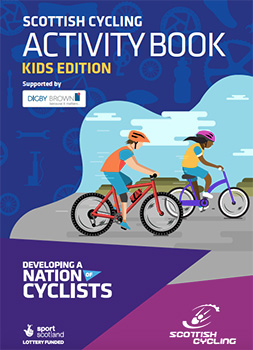 scottish cycling activity book