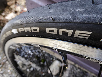 wheelsmith ascent - schwalbe one pro tubeless