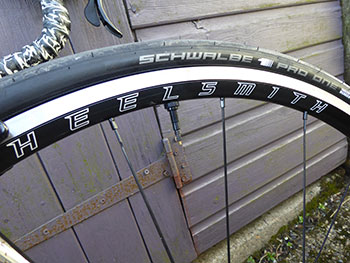 wheelsmith ascent wheelset