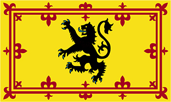 scotland's lion rampant of flanders
